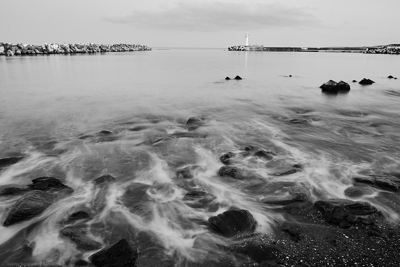 Sawaki Port Rocks and Sea