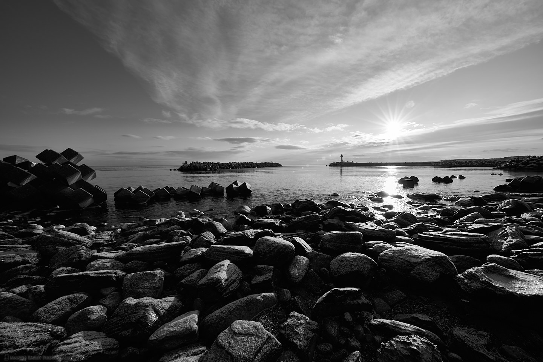 Sawaki Port at Sunrise
