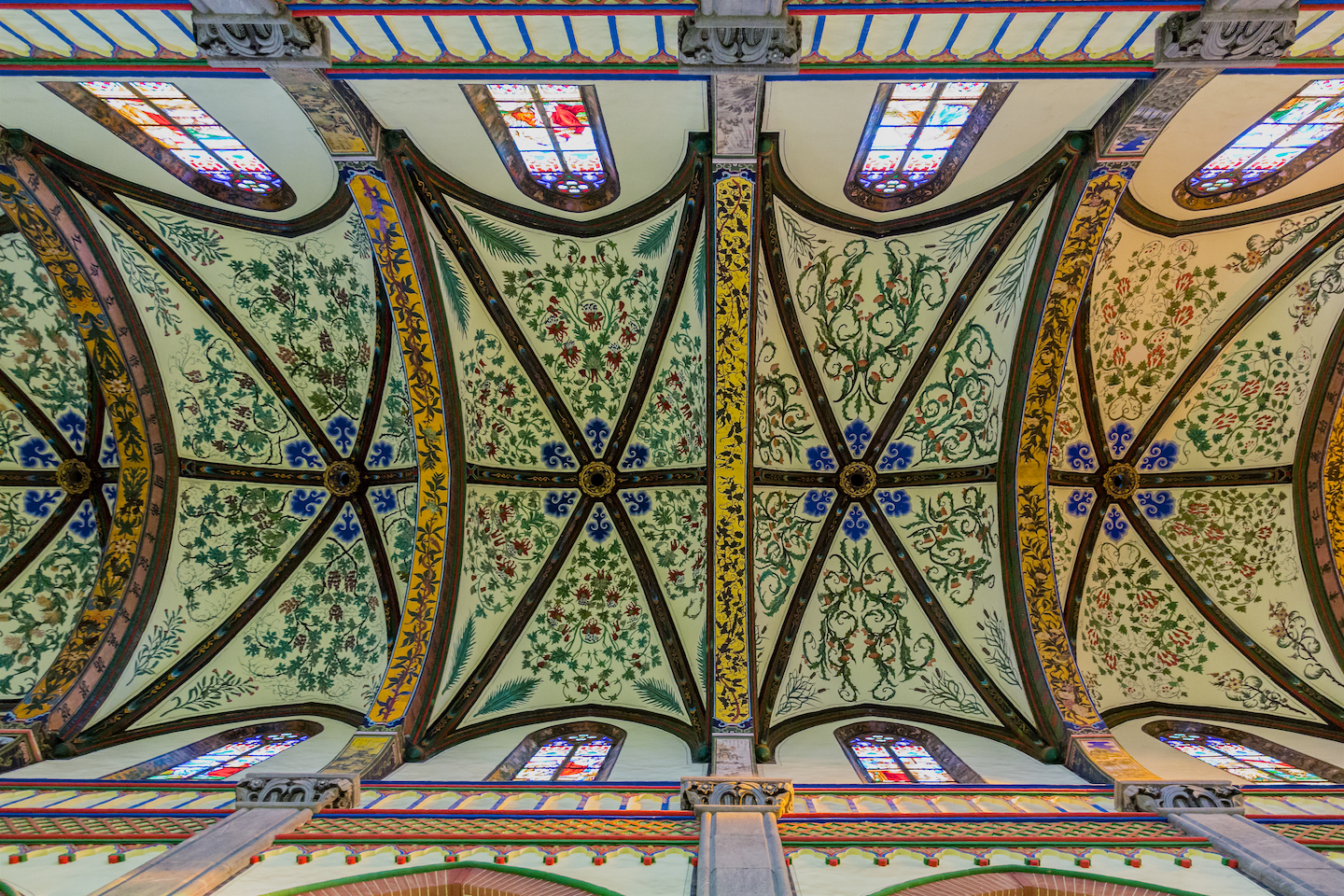 The Spectacular Ceiling at St. Joseph's Cathedral