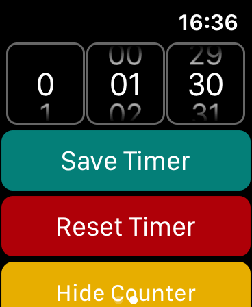 ND Calculator Watch Extension Settings