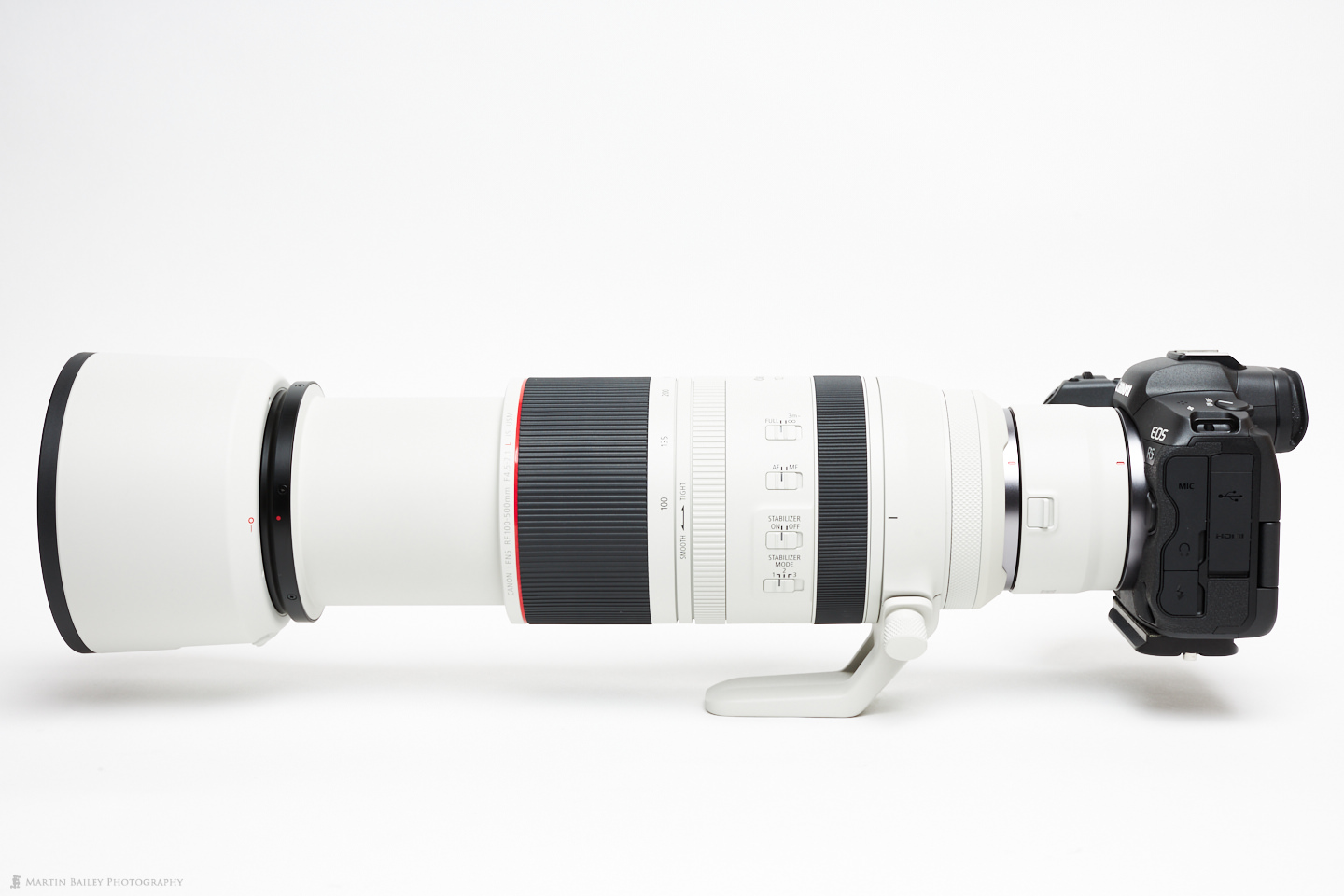EOS R5 with RF 100-500mm Lens and RF 2X Extender