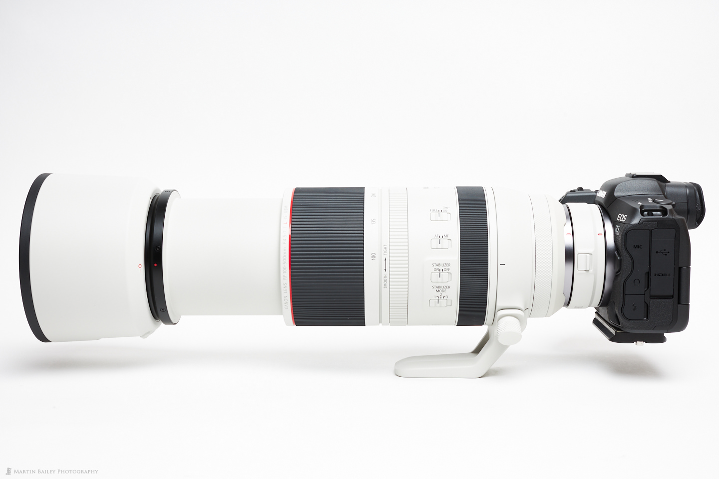 EOS R5 with RF 100-500mm Lens and RF 1.4X Extender