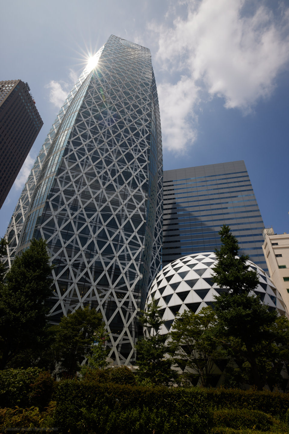 The Cocoon Building in Shinjuku (Capture One)