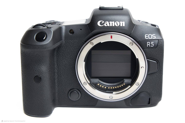 The Canon EOS R5 Body