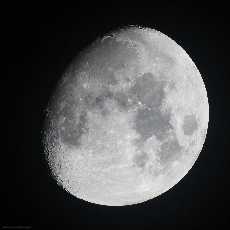 The Moon at 1000mm