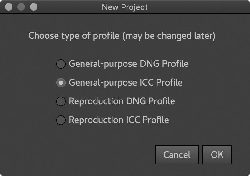 Create General-Purpose ICC Profile