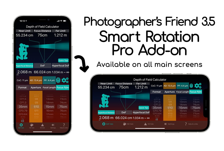 Photographer's Friend Smart Rotation