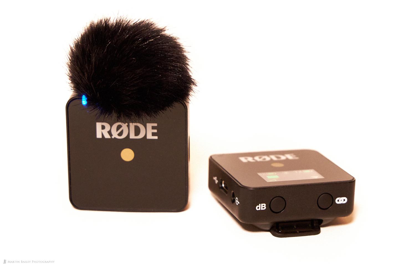 RØDE Wireless Go Mic with Windshield