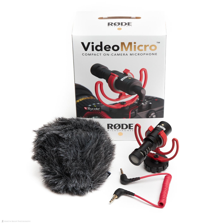 RØDE VideoMicro Mic with Box