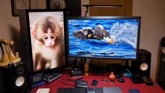 Dual Displays with iMac in Portrait Orientation