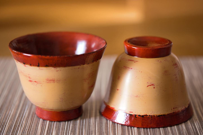 Aizunuri Lacquerware Bowls
