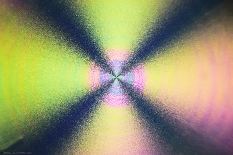 Radial Burst (Polarized Ascorbic acid 40X 12 Frames)