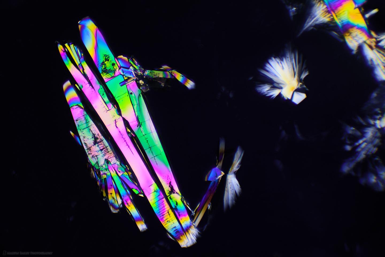 Space Attack (Polarized Sodium Sulfite 100X 30 frms)