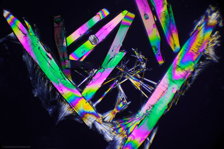 Galactic Scrapyard (Polarized Sodium Sulfite 100X 32 frms)