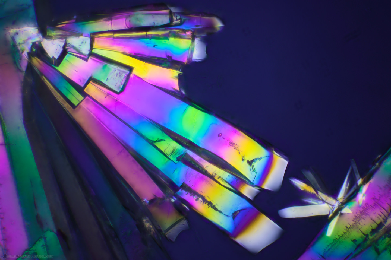 Monoliths' Salute (Polarized Sodium sulfite 400X 26 Frames)