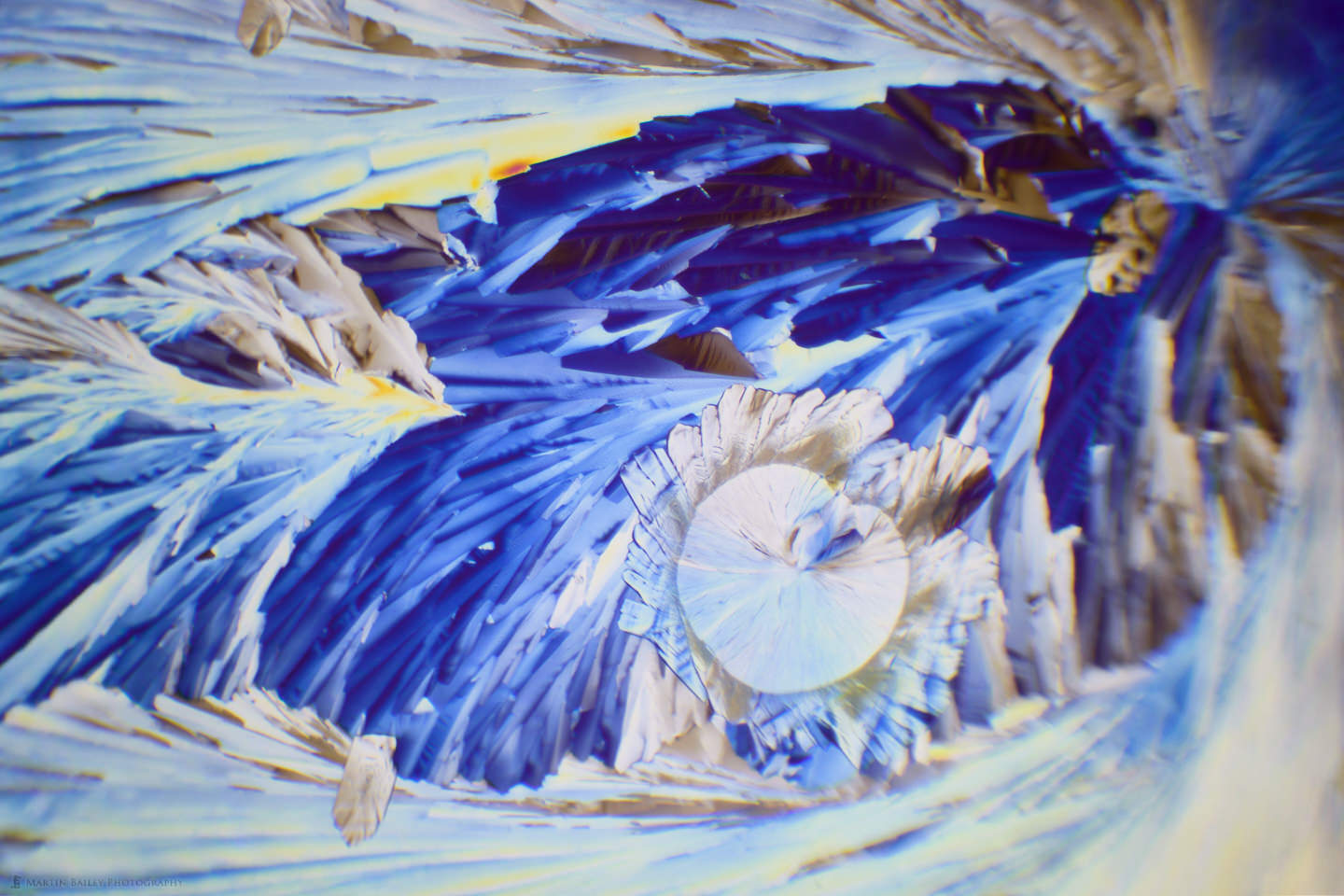 Ice Pheonix Space Cave (Citric Acid Crystals 40X 19 Frames)