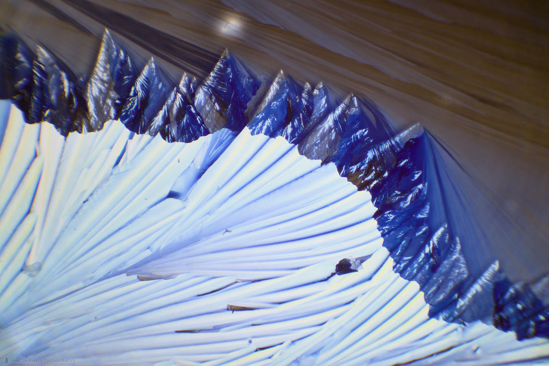 Mountain Range (Citric Acid Crystals 40X 20 Frames)