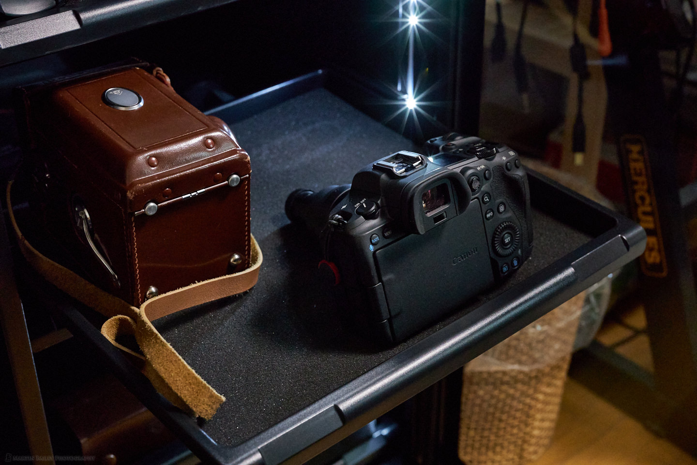 HP-155EX Camera Shelf