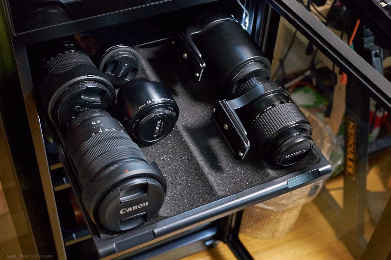 HP-155EX Lens Shelf